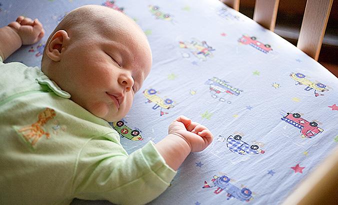 Die Schlafumgebung Für Das Baby Kindergesundheit Infode