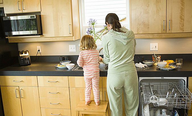 Sicherheit in der Küche | kindergesundheit-info.de