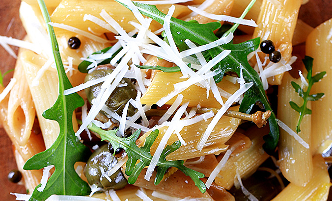 Penne mit Ruccola © Thinkstock