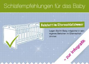 Die Schlafumgebung für das Baby | kindergesundheit-info.de